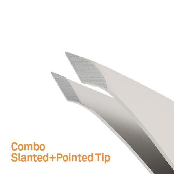 Tweezers with Combo Edge by Slice - Stainless Steel