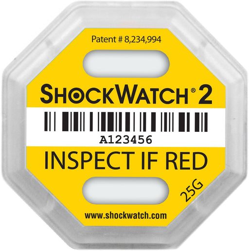 ShockWatch2 Impact Indicator 25G