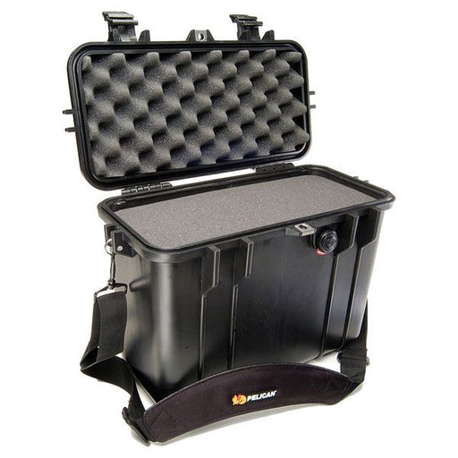 Pelican 1430 Top Loader Case with Foam (Black)