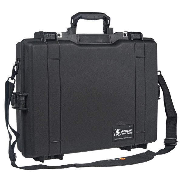 Pelican 1495 Laptop Carry Case with Foam (Black)