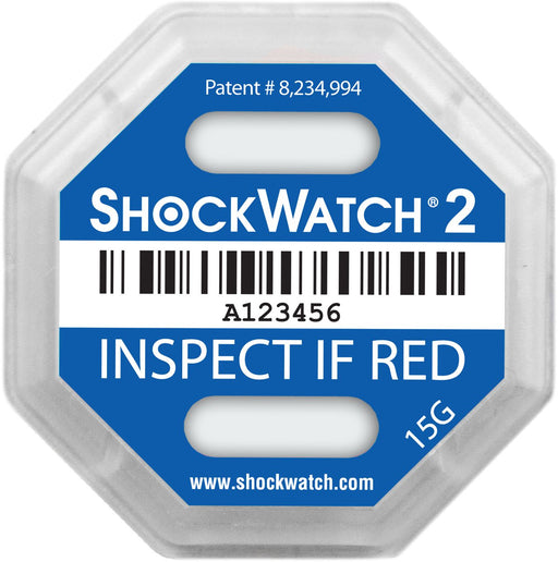 ShockWatch2 Impact Indicator - 15G