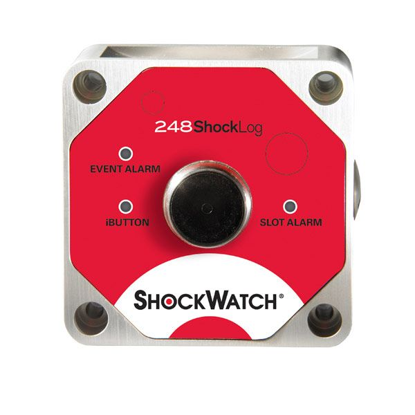 Shocklog 248 with Temperature Data Logger