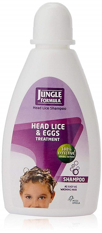 Jungle Formula Shampoo 25ml Head Lice & Eggs Treatment