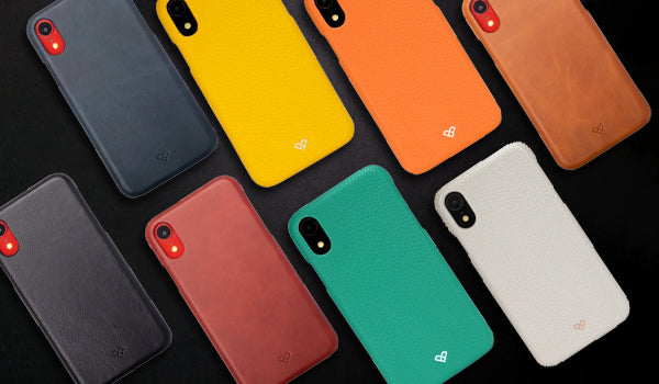 iPhone XR Leather Cases & Covers