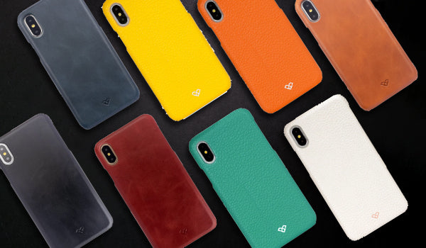 iPhone X Leather Cases & Covers