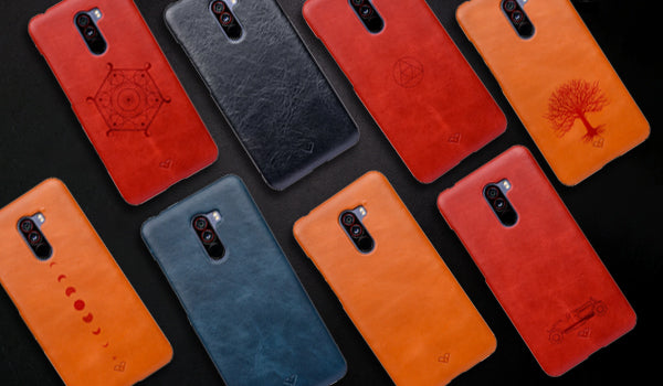 Poco F1 Leather Cases & Covers