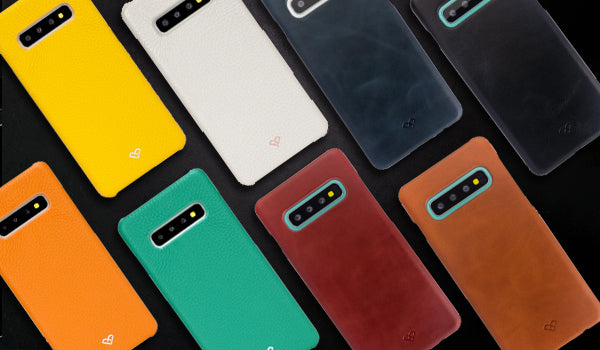 Samsung Galaxy S10 Plus Leather Cases & Covers