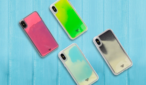 iPhone X Neon Sand Cases & Covers
