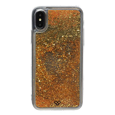 iPhone XS Glitter Cases And Covers-Gold
