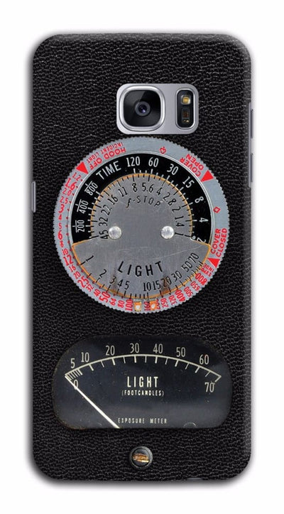 1950s Vintage Photographic Light Meter Designer Slim Case And Cover For Galaxy S7