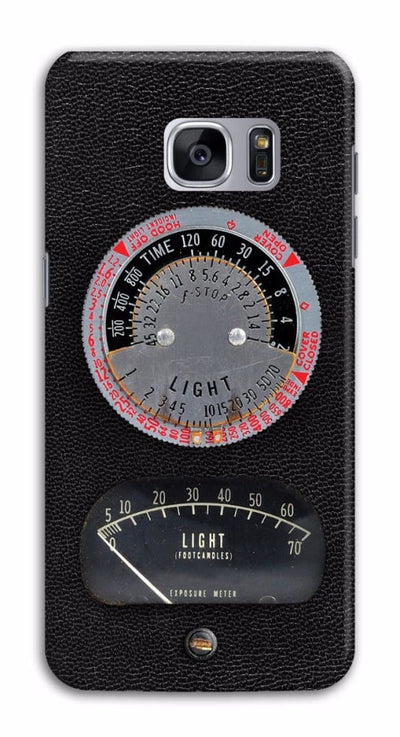 1950s Vintage Photographic Light Meter Designer Slim Case And Cover For Galaxy S7 Edge