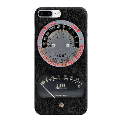 1950s Vintage Photographic Light Meter Designer Slim Case And Cover For iPhone 8 Plus