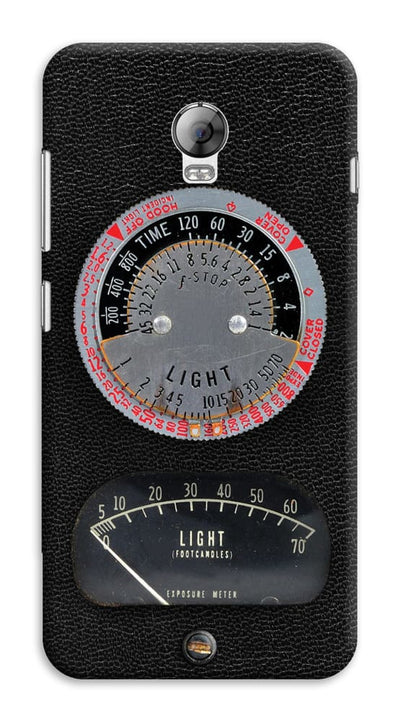 1950s Vintage Photographic Light Meter Designer Slim Case And Cover For Lenovo Vibe P1