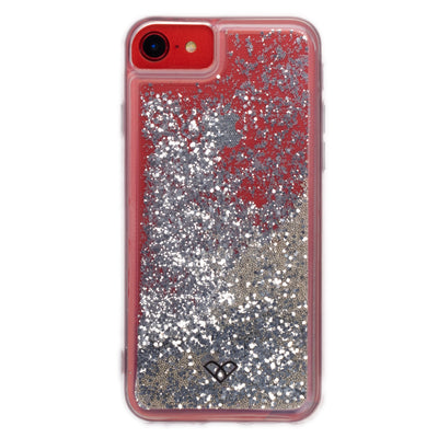 iPhone 8 Glitter Cases And Covers-Shimmering Silver