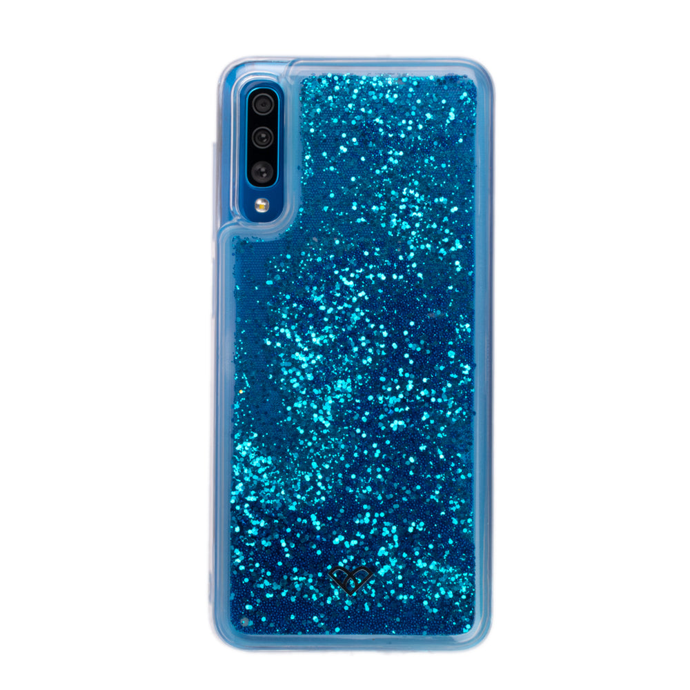 Galaxy A50 Glitter Cases And Covers-Sparkling Blue