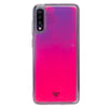 Galaxy A70 Custom Neon Sand Liquid Cases And Covers-Pink