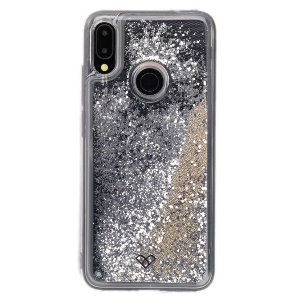 Redmi Note 7 Glitter Cases And Covers-Shimmering Silver