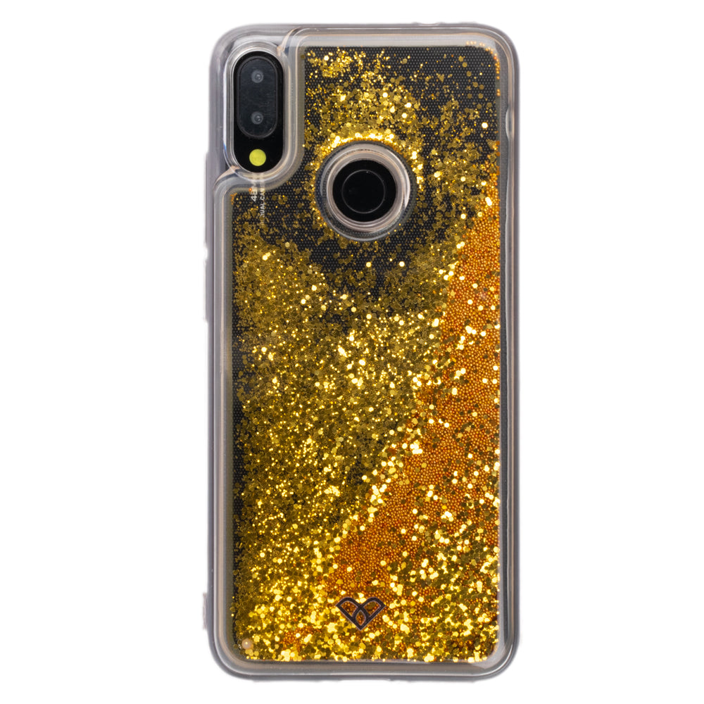 Redmi Note 7 Glitter Cases And Covers-Bling Gold