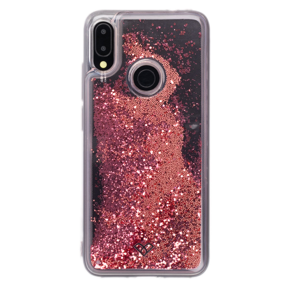Redmi Note 7 Pro Glitter Cases And Covers-Electric Pink