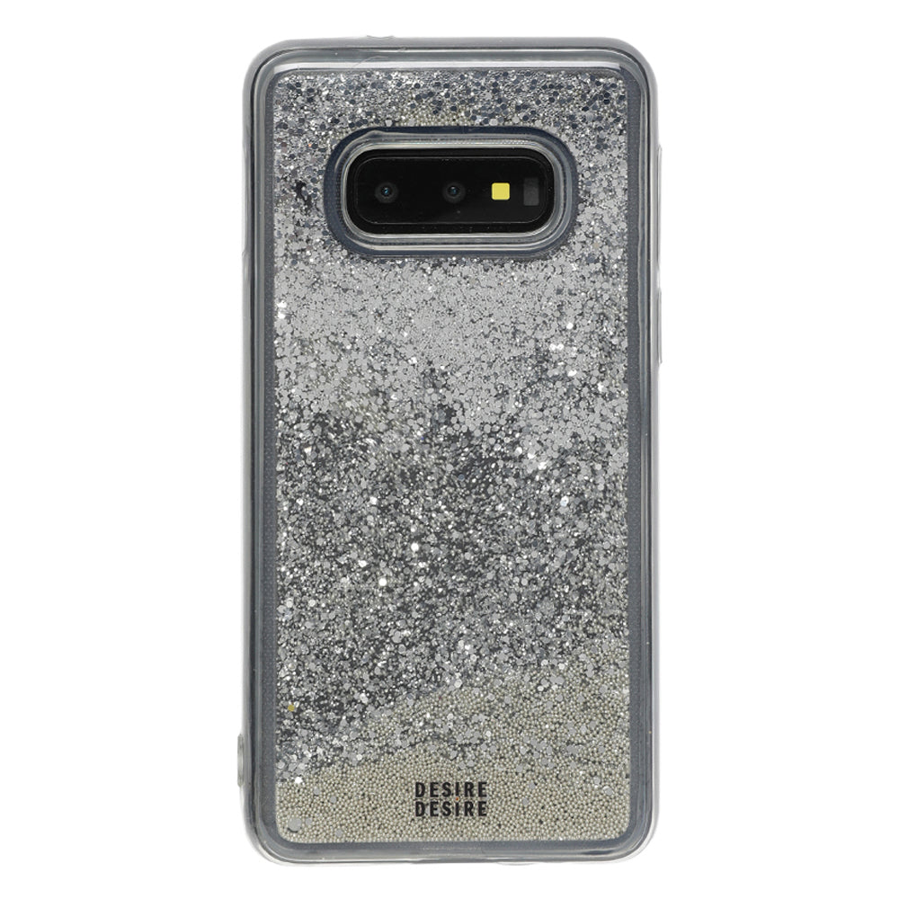 Galaxy S10e Glitter Cases And Covers-Silver