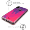 Redmi Note 7 Neon Sand Liquid Cases And Covers-Pink
