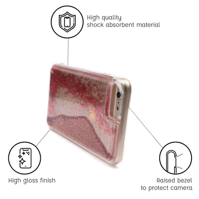 iPhone 6S Glitter Cases And Covers-Electric Pink