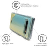 Galaxy S10 Plus Custom Neon Sand Liquid Glow Cases-Blue-White