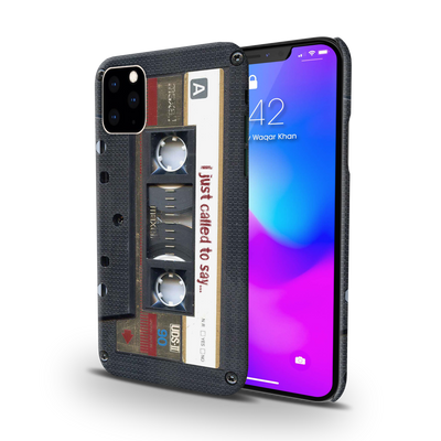 Maxell Vintage Cassette Slim Case And Cover For iPhone 11 Pro Max