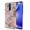 Pink Marble Slim Case And Cover For Poco X2