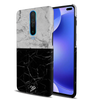 Grey & Black Marble Slim Case And Cover For Poco X2