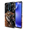 Tiger Marble Slim Case And Cover For Poco X2