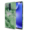 Green Marble Slim Case And Cover For Poco X2