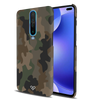 Army Abstract Camouflage Slim Case And Cover For Poco X2
