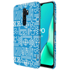 The Prime Avengers Slim Case And Cover For Oppo A9 (2020)-Blue