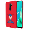 Donald Duck - Looking Back At Ya! Slim Case And Cover For Oppo A9 (2020)