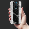 White Chevrons Slim Case And Cover For Poco X2