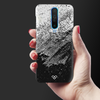 Distress Overlay Texture Slim Case And Cover For Poco X2