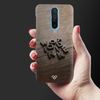 Wooden WOT Slim Case And Cover For Poco X2