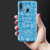 The Prime Avengers Slim Case And Cover For Galaxy A30-Blue