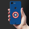 Captain America Shield Slim Case And Cover For Pixel 3 XL