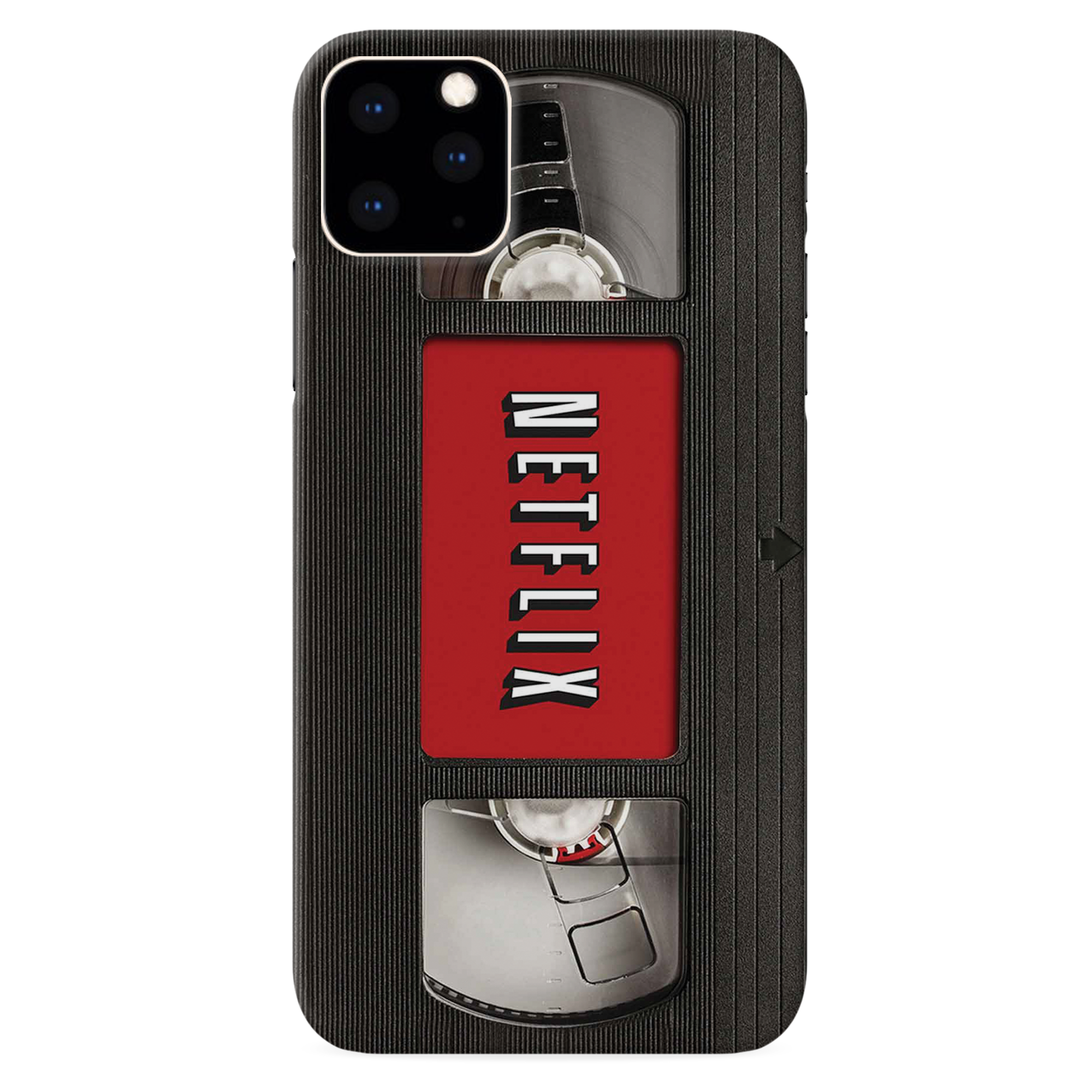 Netflix On VHS Slim Case And Cover For iPhone 11 Pro Max