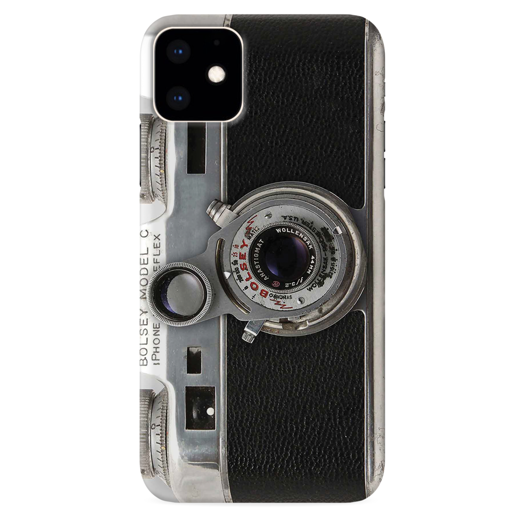 Bolsey Model C Vintage Camera Slim Case And Cover For iPhone 11