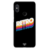 Back to the Retro Slim Case And Cover For Redmi Note 5 Pro