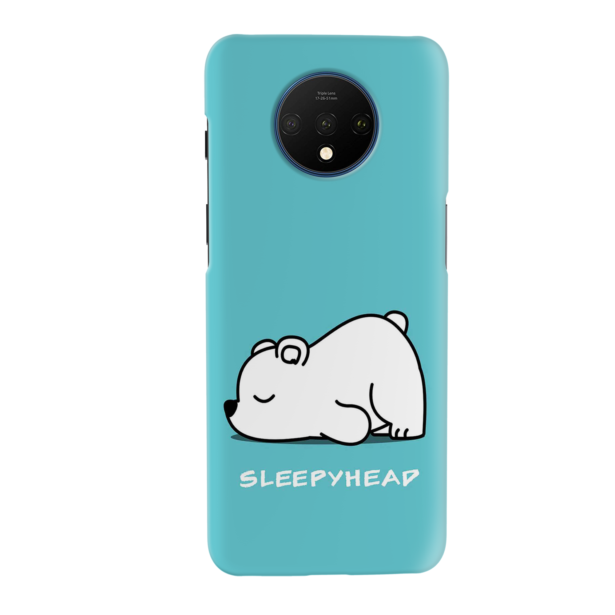 Sleepy Panda Slim Case And Cover For OnePlus 7T