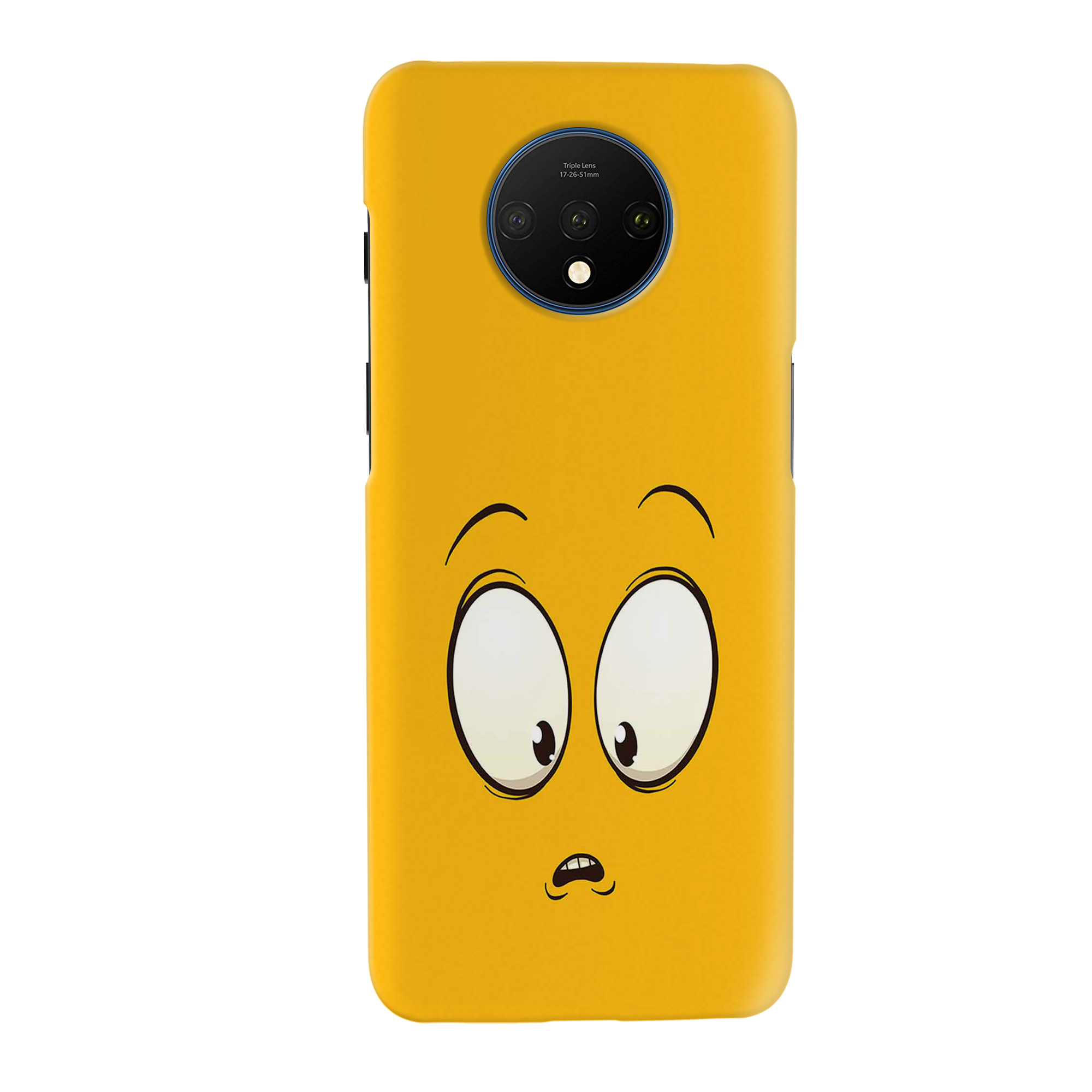 Confused Emoji Slim Case And Cover For OnePlus 7T