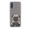 Bad Pug Slim Case And Cover For Vivo Z1X