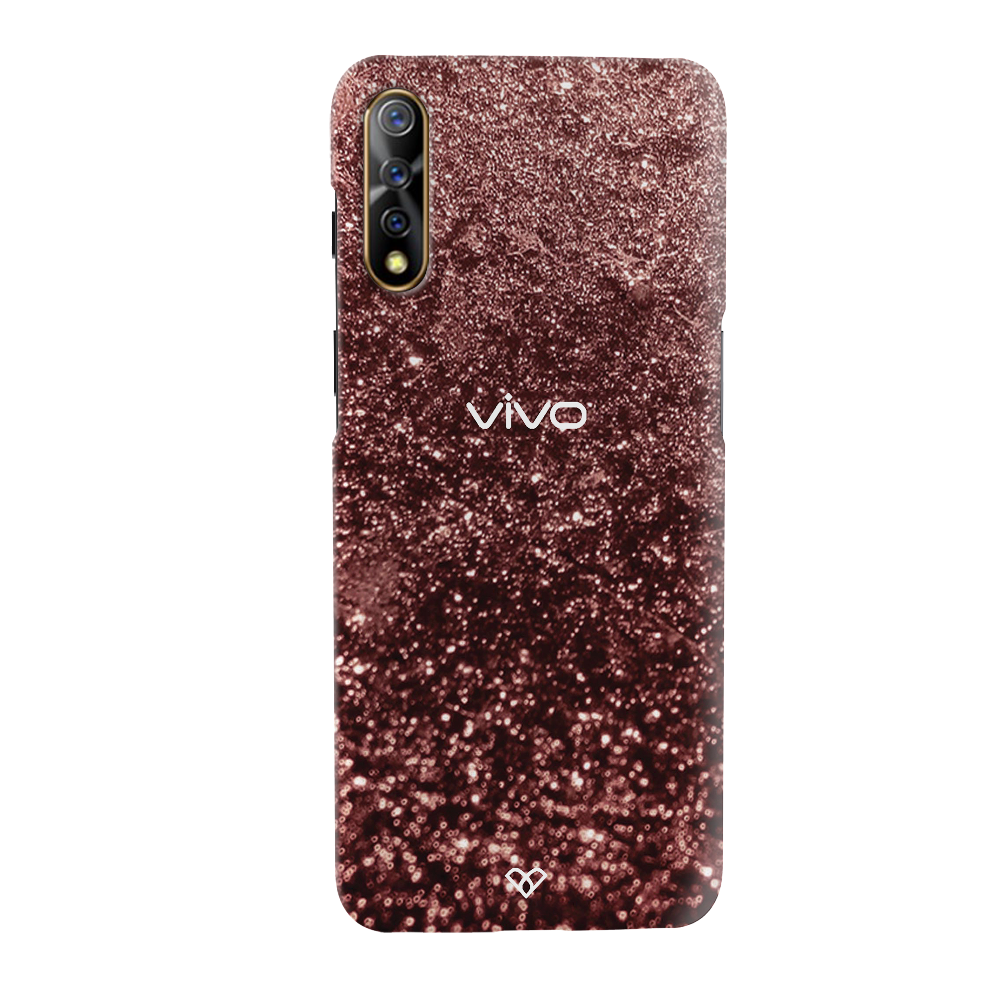 Copper Slim Case And Cover For Vivo S1
