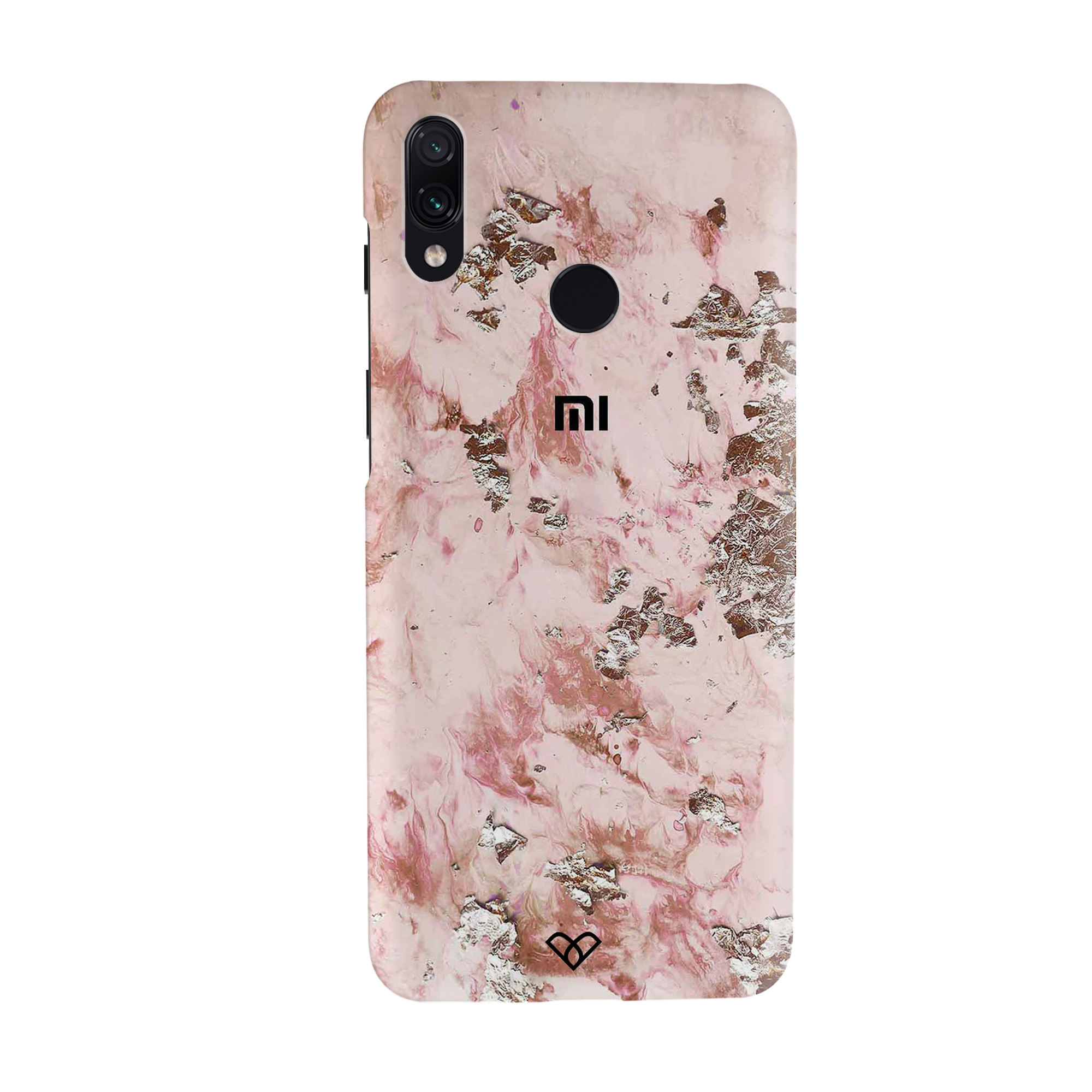Pink Marble Slim Case And Cover For Redmi Note 7 Pro