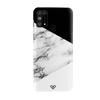 Geometric White Marble Textured Slim Case And Cover For Galaxy M31