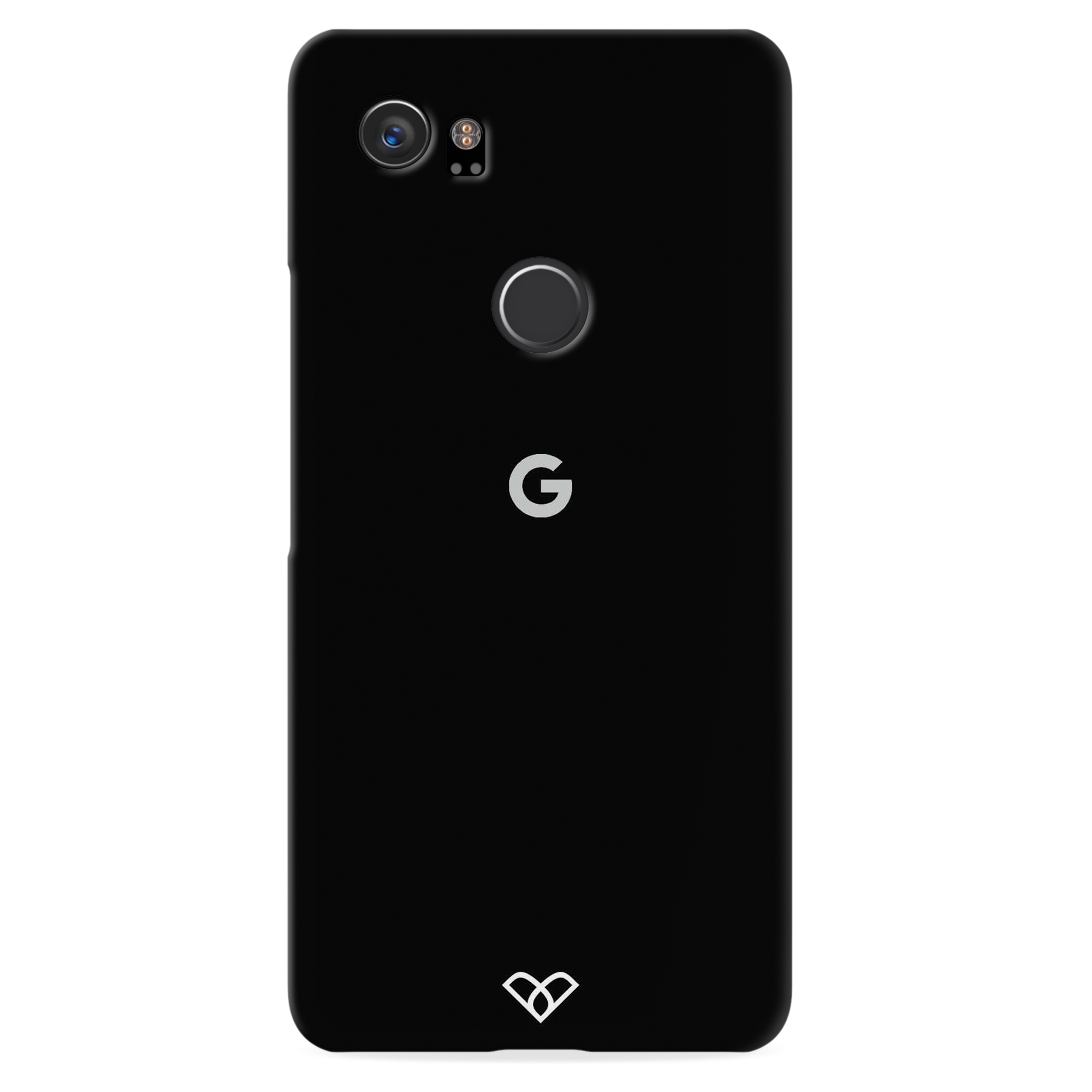 Jet Black Slim Case And Cover For Pixel 2 XL